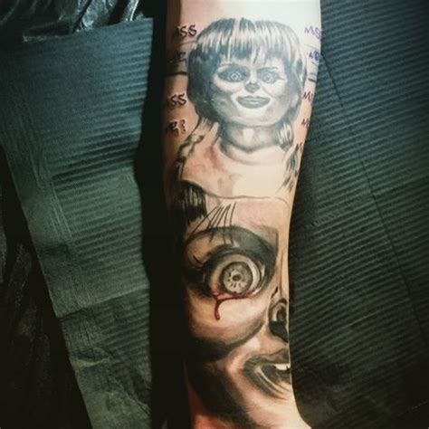 tattoo shops near me corpus christi 42 best the conjuring annabelle tattoos images on