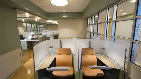 summit emergency room split flow emergency department results waiting area buckl architects