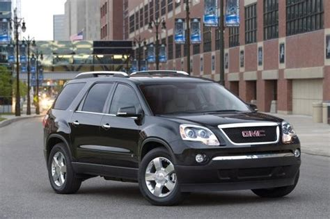 gmc used car 2007 2011 gmc acadia used car review autotrader
