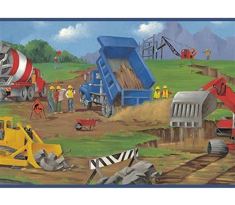 wwe wallpaper border for boys bedroom construction kids boys room wallpaper wall border
