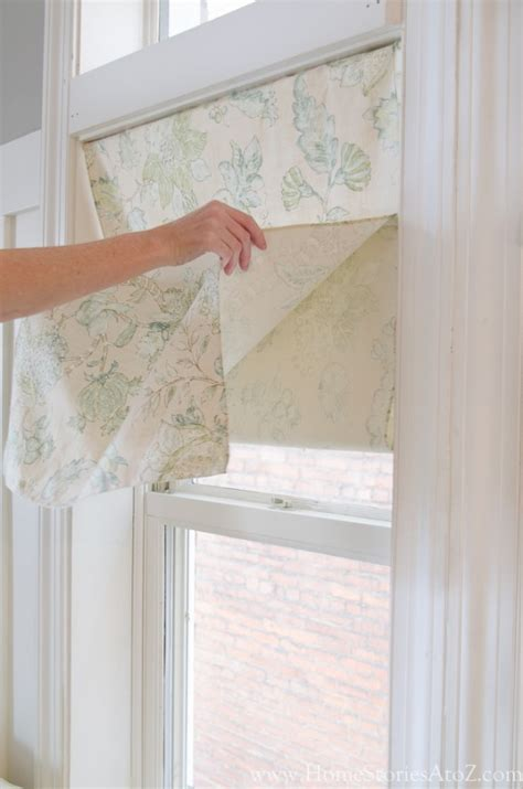 how to make roman curtains how to make faux roman shades