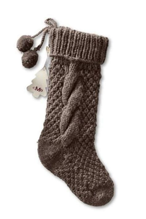 pattern for cable knit christmas stocking chunky cable knit christmas stocking knits and kits