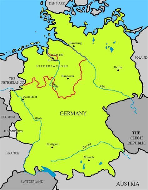 germany bremen map germany
