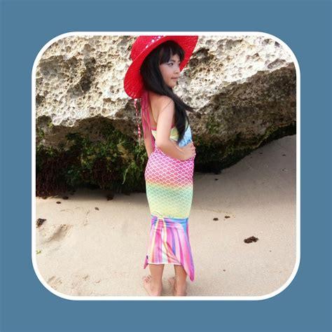 Baju Renang Putri Duyung Mermaidtail Ariel Size Xl 11 13 Th 31 37 Kg detail dan harga baju putri duyung rainbow brizz baju putri duyung
