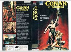Conan the Barbarian (1981)on Thorn EMI (Spain VHS videotape) C.