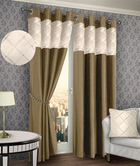 cream and chocolate curtains curtains ideas 187 cream and brown curtains inspiring