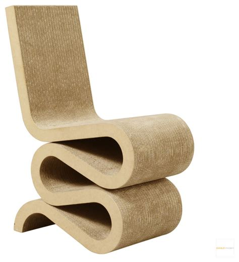 Wiggle Chair by Frank Gehry Wiggle Chair Vitra Armchairs