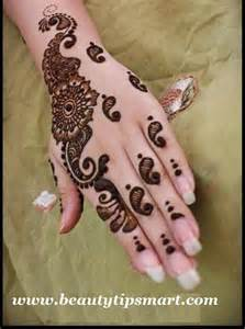 simple henna patterns on hands for girls step by step