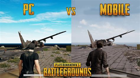pubg mobile on pc player unknown s battlegrounds pc vs mobile gameplay