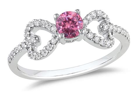 pink engagement rings simply the best when one