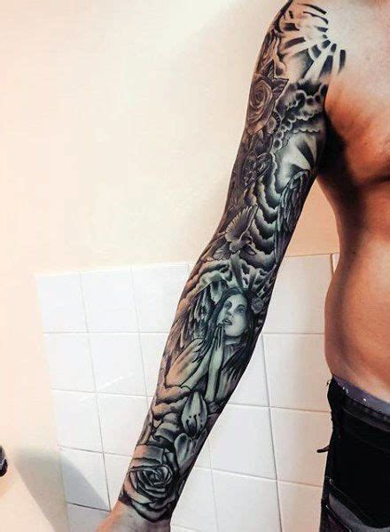 clouds arm tattoos  guys images  pinterest