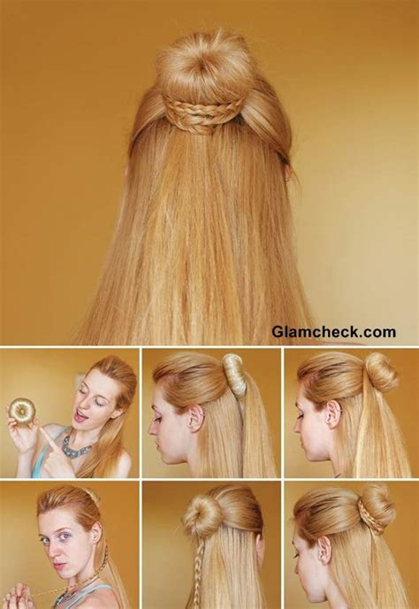 Cinderella Hairstyle by Hairstyle How To Cinderella Braid Knot Bun