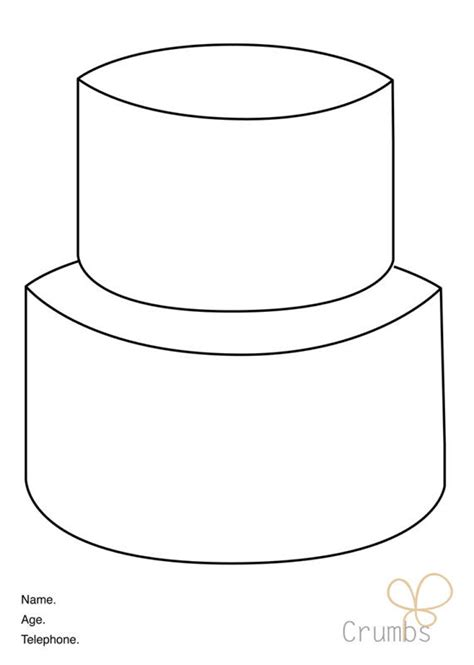 cake decorating templates printable cake templates 28 images 6 best images of cake