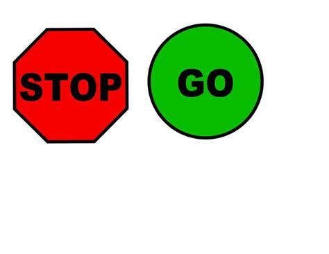 Green Go Sign - Clipartion.com Go Sign Clip Art