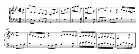 final section of a musical piece sonata no 6 in e flat major j c f bach wikipedia