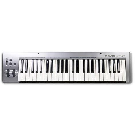 m audio keyrig 49 midi keyboard 49 key midi keyboard from inta audio uk