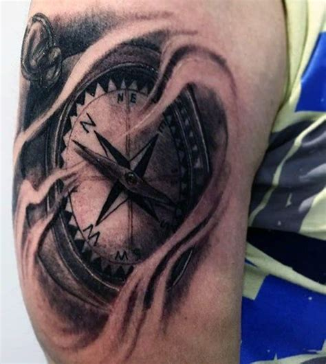 compass tattoo types 110 best compass tattoo designs wild tattoo art