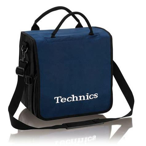 Dhavin Distro Bag Navy technics technics backpack record bag navy blue with white logo vinyl at juno records