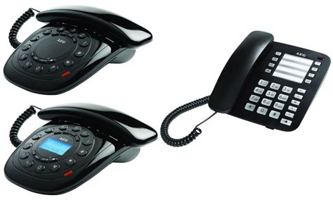 telefoni per ufficio telefoni aeg per casa e ufficio groupon goods