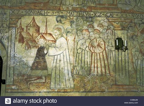Medieval Wall Murals wall mural with a depiction of jesus christ in the
