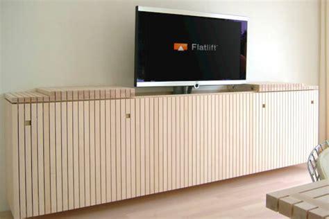 sideboard tv versenkbar 11 years television lifts integration tv lift mechanism