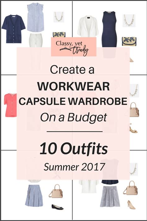 New Wardrobe On A Budget by Create A Workwear Capsule Wardrobe On A Budget 10 Summer