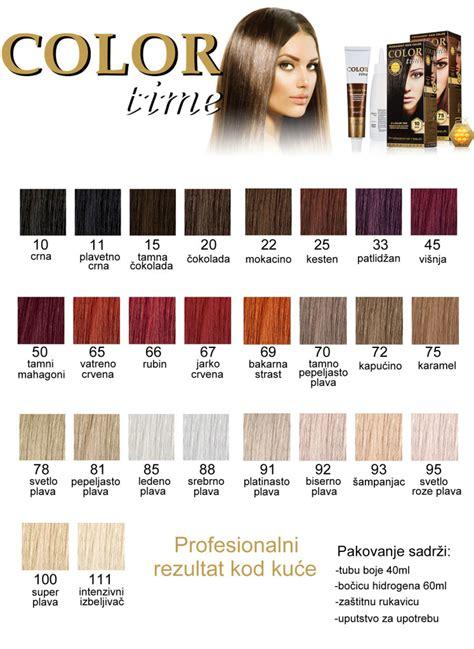 farbe za kosu katalog violet boje za kosu