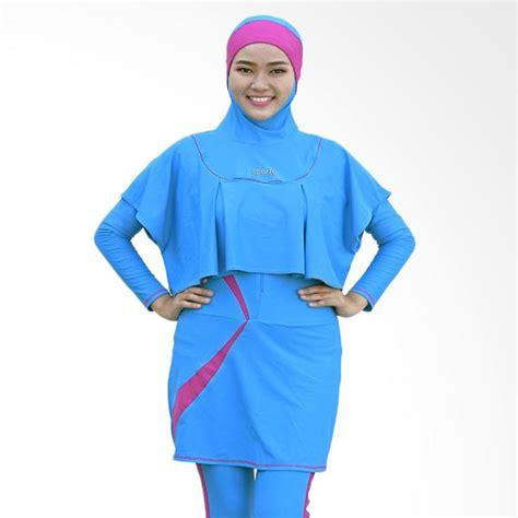 Baju Renang Sporte Jual Sporte Baju Renang Muslimah Biru Pink Sr 11