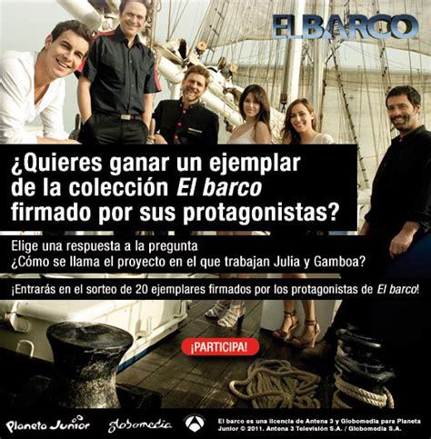 libro el pinoplas el barco consigue un libro de el barco firmado por los actores de la serie antena 3 tv