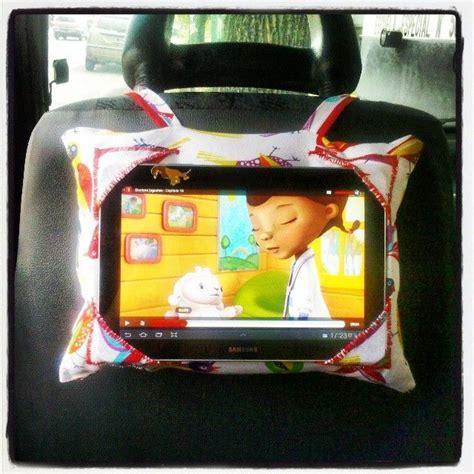 porta tablet auto almohadon porta tablet para el auto by decorando ideas