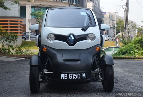 renault malaysia renault twizy ev launched in malaysia from rm72k