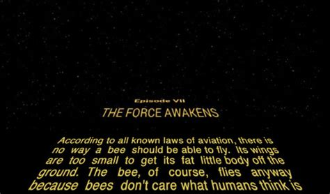 Bee Movie Script Meme - the 19 best exles of the star wars opening scroll meme