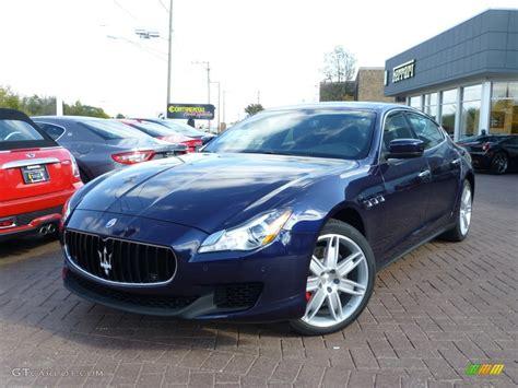 2014 Passione Blue Maserati Quattroporte S
