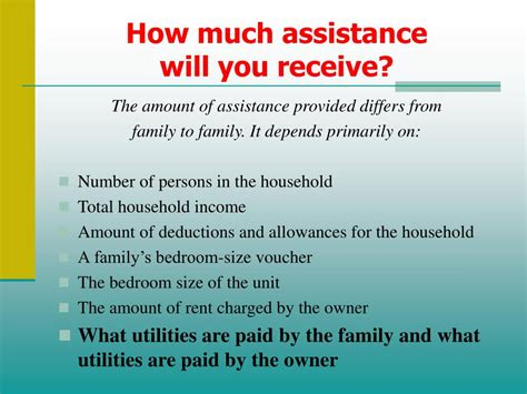 how much is section 8 rent ppt housing choice voucher section 8 participant