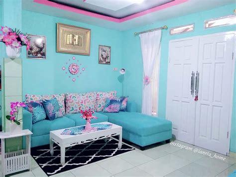 warna cat rumah ruang tamu  bagus gambar minimalis