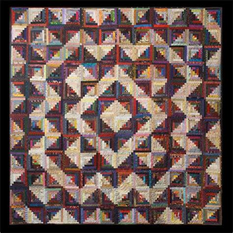 Log Cabin Quilt Pattern Variations by Many Logs In The Cabin Log Cabin Quilts