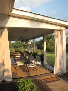 Covered Patio Curtains by 25 Best Ideas About Patio Curtains On Pinterest Outdoor