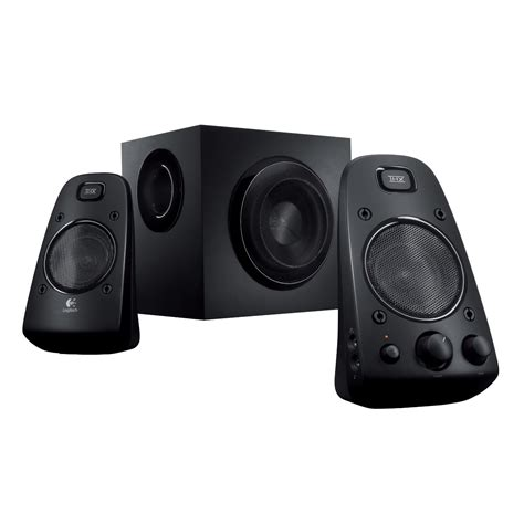 Logitech Z623 Speaker System audio for computer logitech z623 thx certified speaker