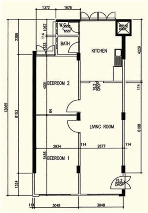 3 room flat floor plan hdb history photos and floor plan evolution 1930s to