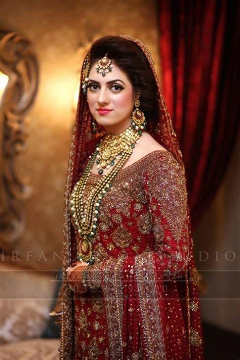 Latest Pakistani Bridal Dresses 2018 For Barat Day   StyleGlow.com