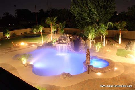 outdoor pool lighting lighting systems photo gallery