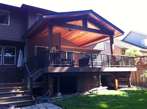 porch and patio timber patio cover indy construction llc
