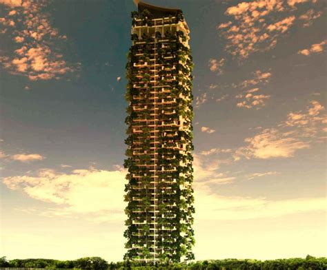 meet the world s largest vertical garden apartment building