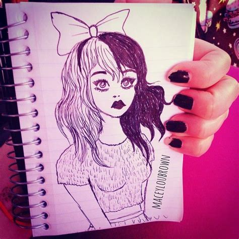 doodlebug instagram melanie martinez inspired doodle melaniemartinez