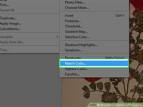 how to match colors in photoshop how to match colors in photoshop with pictures wikihow