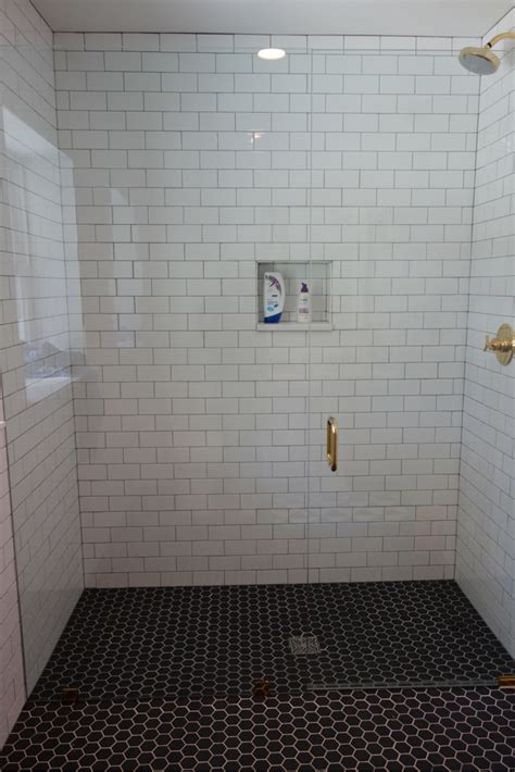 curbless shower 7 myths about one level curbless showers