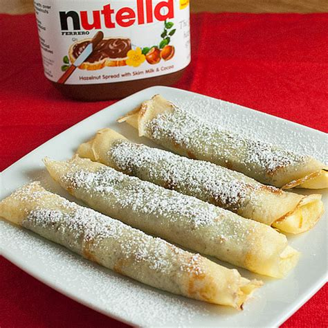 Crepe Kitchen by Easy Nutella Crepe Recipe