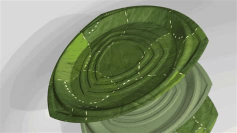 Leaf Plates 1 these environmentally responsive recyclable plates are made from leaves