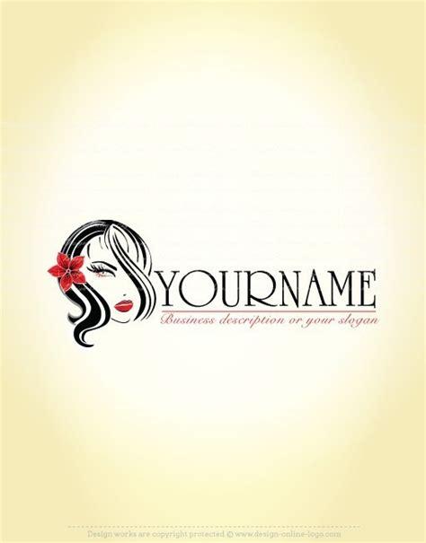 design a makeup logo exclusive design sexy woman hair makeup logo compatible
