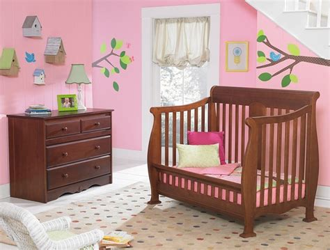 Crib Converts To Toddler Bed Kathryn Crib Converted Into Toddler Bed Traditional Toddler Beds Other Metro By Baby S